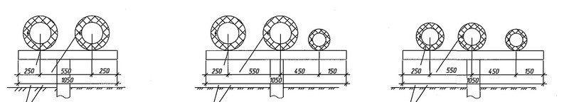 Проектирование канализации - профиль труб