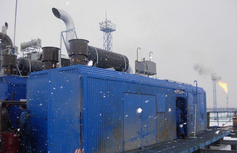 Утилизация попутного газа в ГПГУ