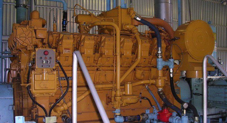 Газопоршневая генераторная установка Caterpillar