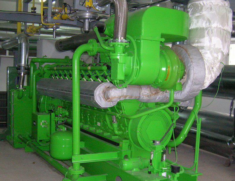 Газопоршневая генераторная установка Janbacher