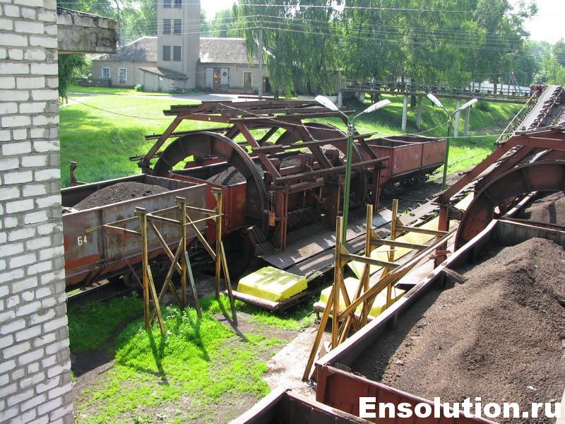 Доставка железнодорожным транспортом и сжигание торфа_1