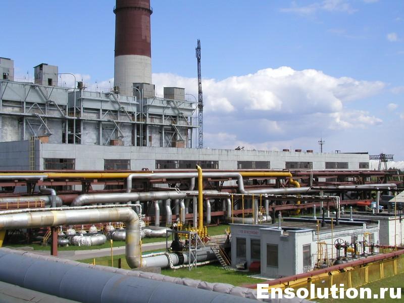 Теплоэлектростанция большой мощности