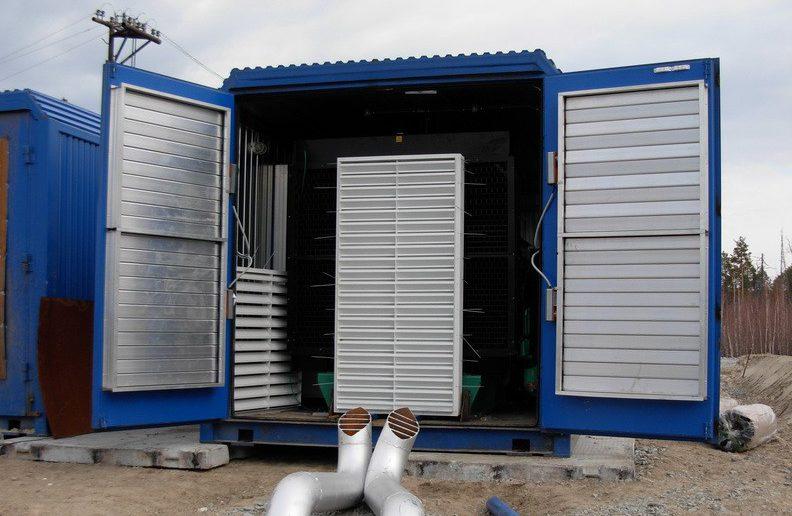 ДГУ Каминз 1 МВт в контейнере-1