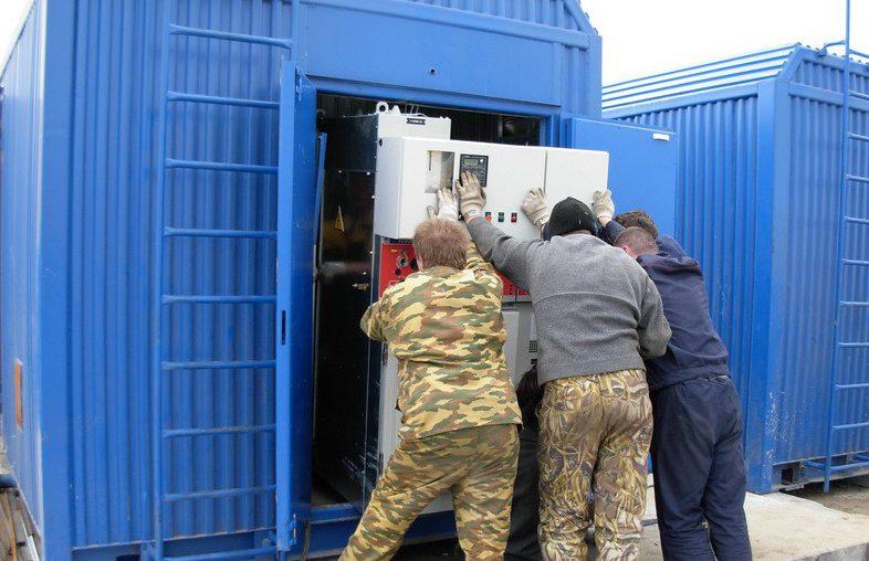 ДГУ Каминз 1 МВт в контейнере-2