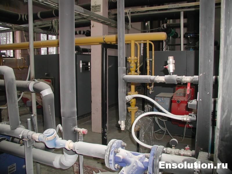водогрейная котельная 1,6 МВт