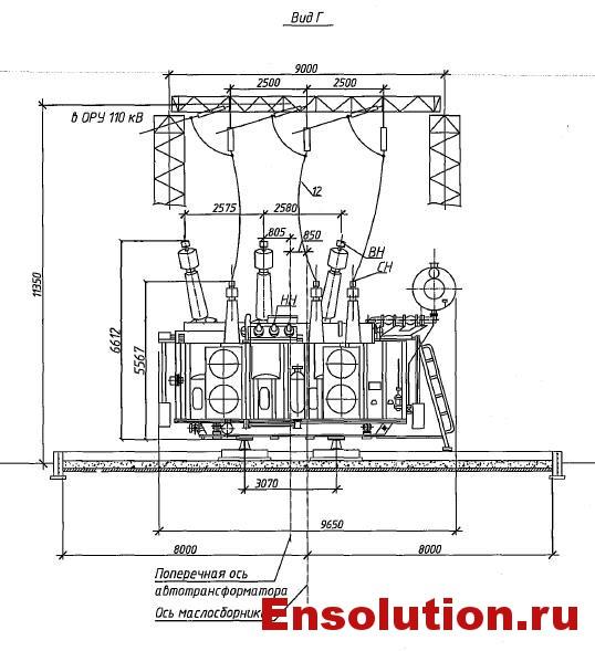 Автотрансформатор АТДЦТН 63000-220-110_2