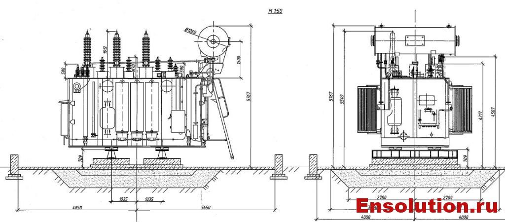 Автотрансформатор АТДЦТН 63000-220-110_5