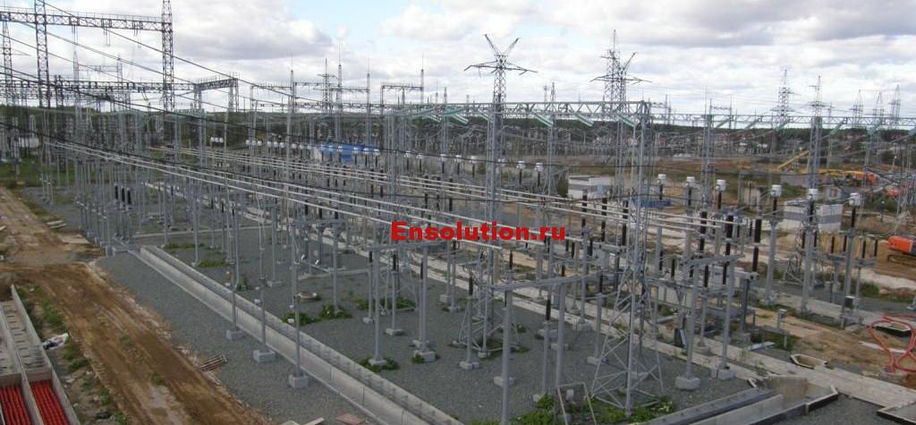 Оценка воздействия электромагнитных излучений ПС 500 кВ Арзамасская