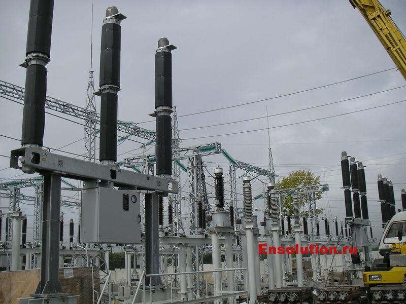 Основное электротехническое оборудование ОРУ 220 кВ ПС Дальневосточная