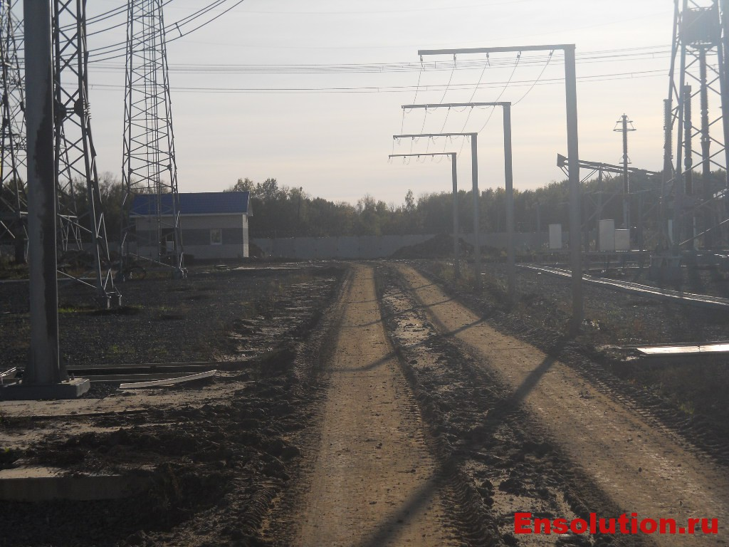 ПС 500 кВ Арзамасская - дороги внутриплощадочные
