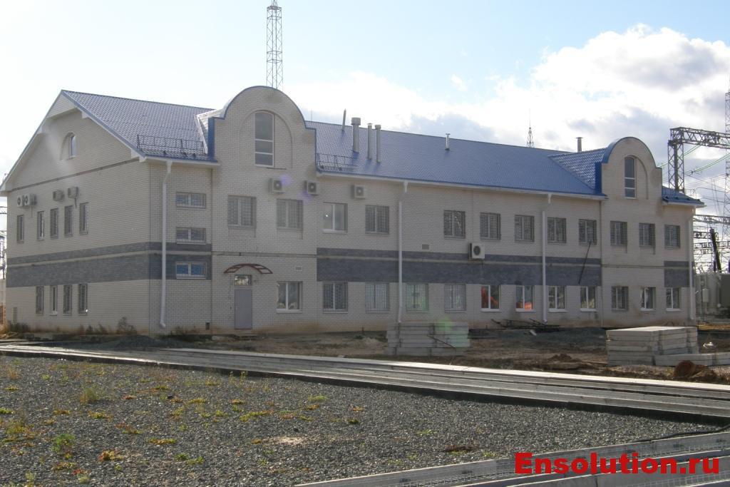 ПС 500 кВ Арзамасская - здание ОПУ