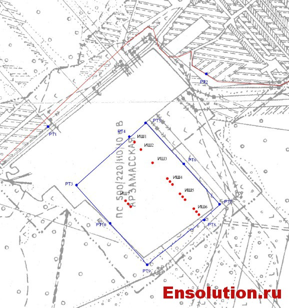 ПС 500 кВ Арзамасская - источники шума