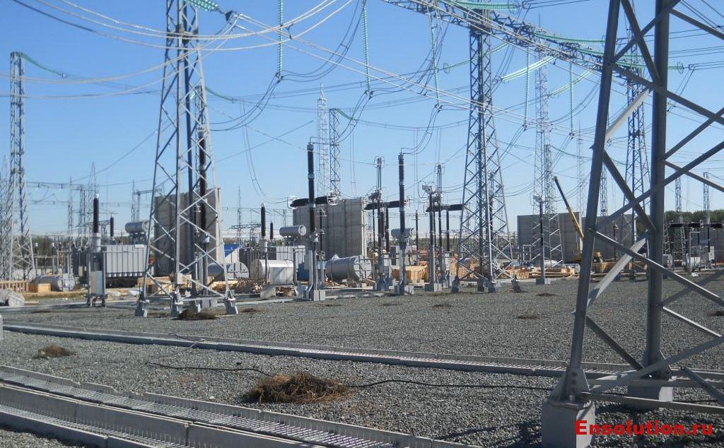 ПС 500 кВ Арзамасская - площадка строительства