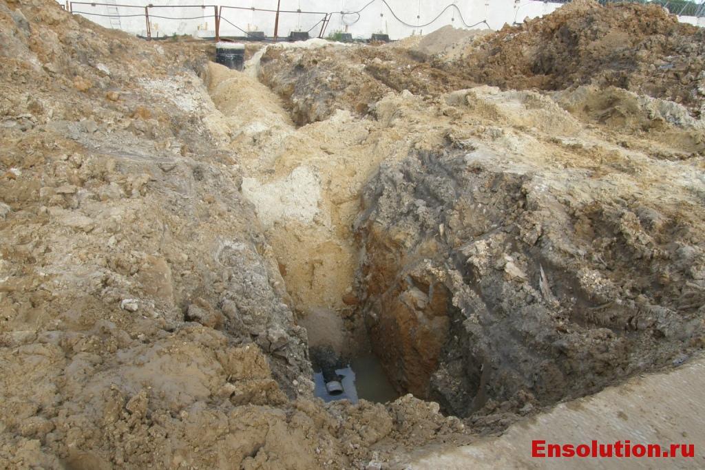 ПС 500 кВ Арзамасская отведение сточных вод