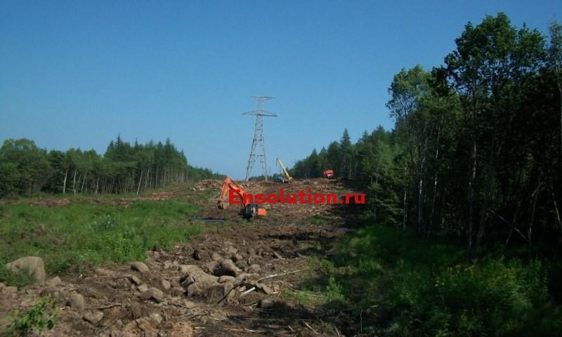 Строительство ВЛ 500кВ_1