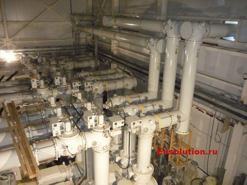 Элегазовые токпроводы КРУЭ 500 кВ - фото 2