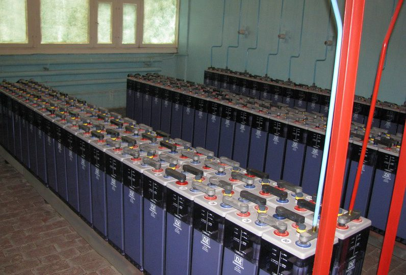АКБ тепловой электростанции - аккумуляторное хозяйство ТЭЦ фото 3