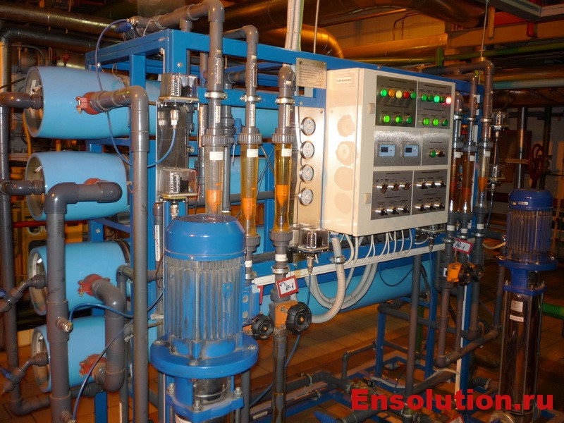 Водоподготовка на ТЭЦ - фото 1