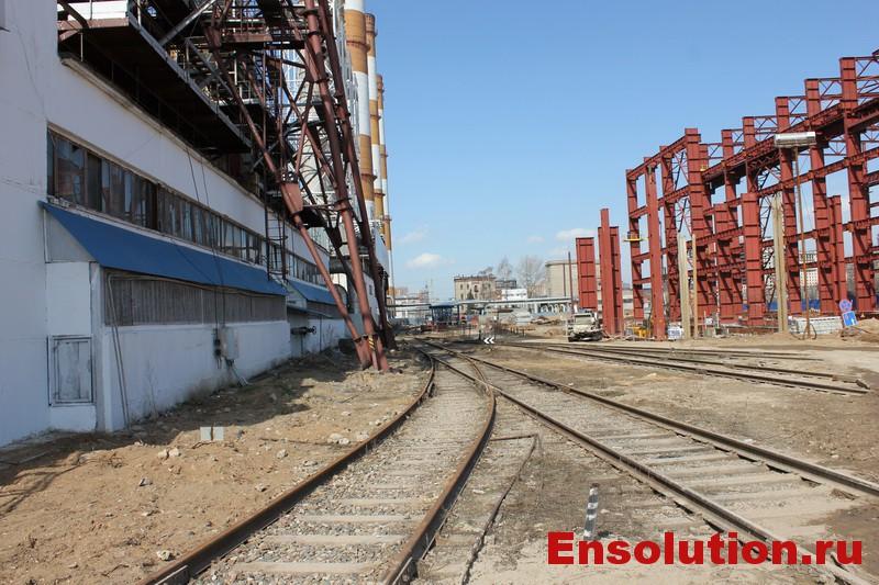 Железнодорожный транспорт на ТЭЦ - фото 1