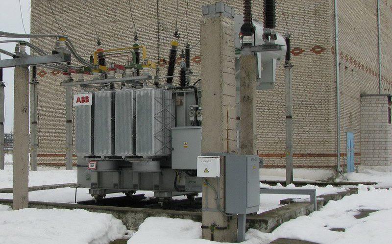 Силовой трансформатор ABB фото 1