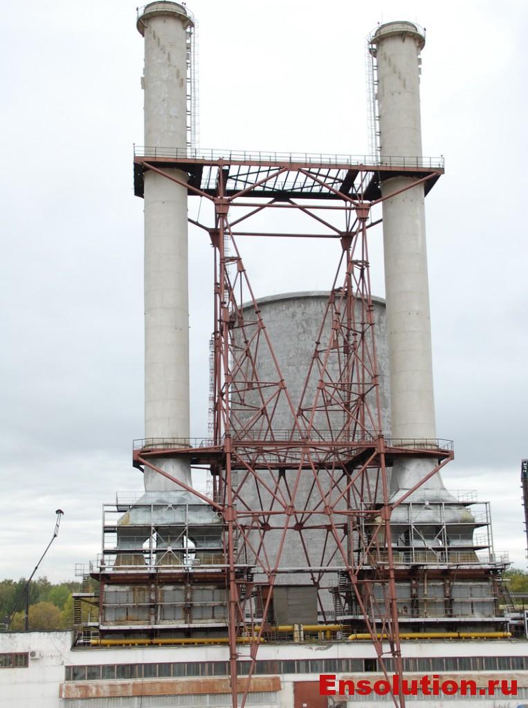 Фото теплофикационной электростанции