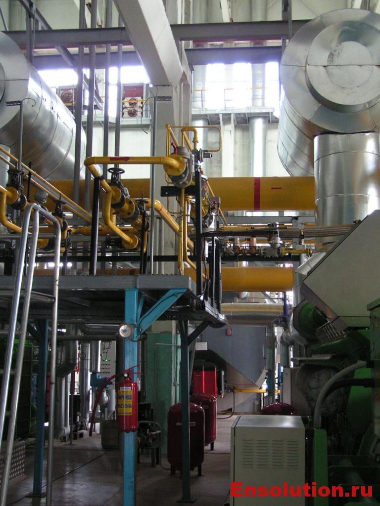 комбинированная выработка теплоты и электричества