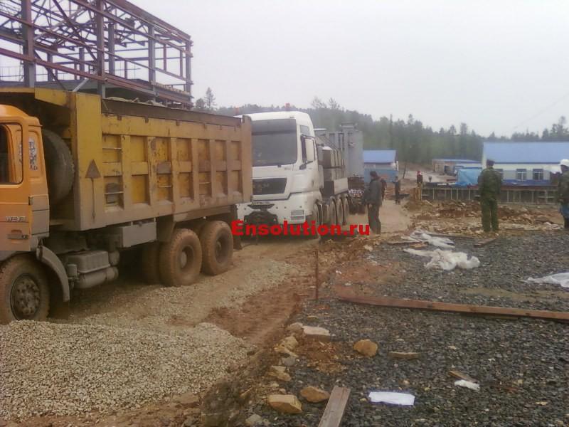 Доставка оборудования на ПС 220 кВ Гулево