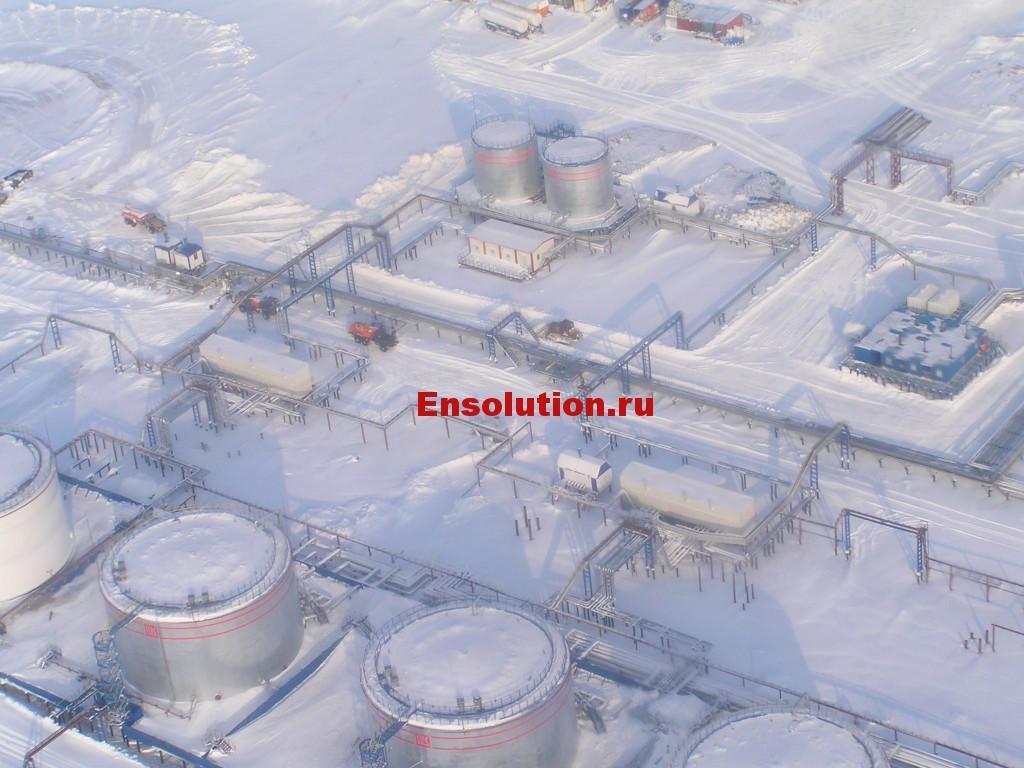 нефтегазовое месторождение в России