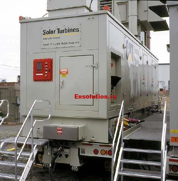 Фото газовой турбины Solar Taurus 60 - 1