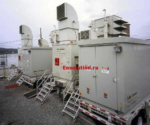 Фото газовой турбины Solar Taurus 60 - 2