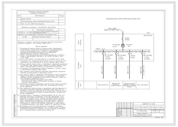 Электроснабжение жилого дома д.Моссоляны - 1