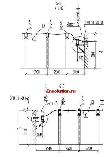 Автотрансформатор - Сибирь - планы узлов 4
