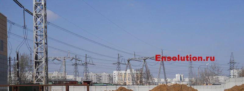ВЛ 500 кВ — ПС 500 кВ «Бескудниково» — ПС 750 кВ «Белый Раст» - фото 2