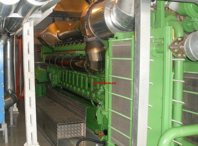 Регулировка двигателя ГПГУ Janbacher JMS 208 2