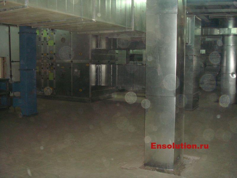 приточно-вытяжная вентиляция главного корпуса