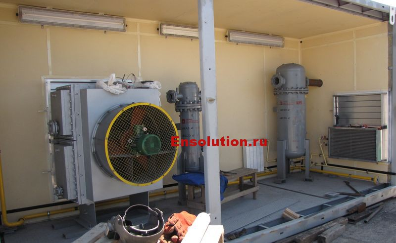 Система охлаждения компрессора