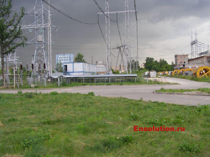 ПС 500 кВ Чагино фото